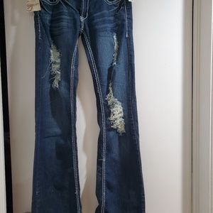 CAMBRIDGE ripped jeans